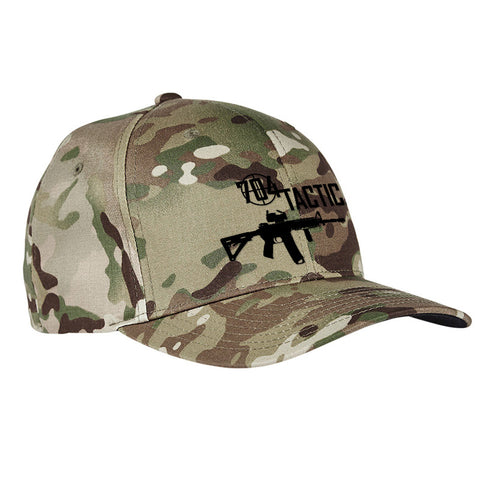 704 Tactical 704 Tactical Logo Flexfit® Multicam® Trucker Cap Headwear [variant_title] by Ballistic Ink - Made in America USA