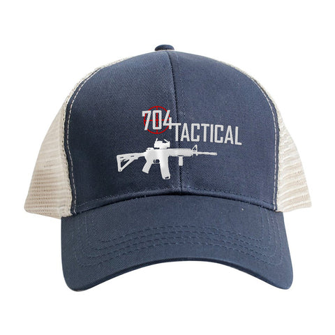704 Tactical 704 Tactical Logo Snapback Cap Headwear [variant_title] by Ballistic Ink - Made in America USA