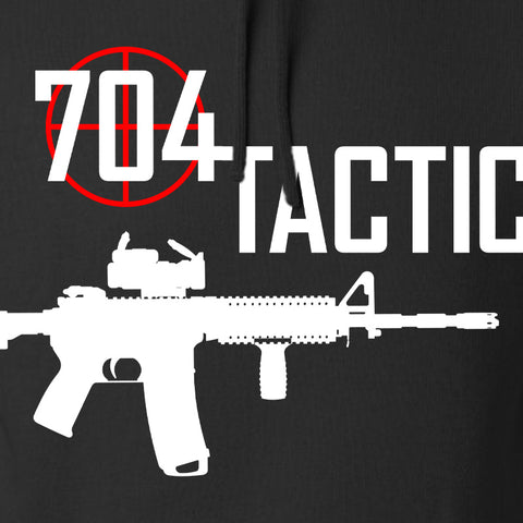 704 Tactical 704 Tactical Full Logo Hoodie Hoodies [variant_title] by Ballistic Ink - Made in America USA