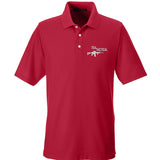 704 Tactical 704 Tactical Logo Polo Polos Small / Red by Ballistic Ink - Made in America USA