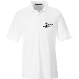 704 Tactical 704 Tactical Logo Polo Polos Small / White by Ballistic Ink - Made in America USA