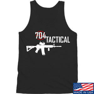 704 Tactical 704 Tactical Full Logo Tank Tanks SMALL / Black by Ballistic Ink - Made in America USA