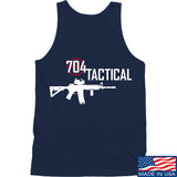 704 Tactical 704 Tactical Full Logo Tank Tanks SMALL / Navy by Ballistic Ink - Made in America USA