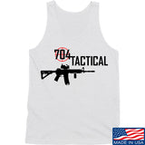 704 Tactical 704 Tactical Full Logo Tank Tanks SMALL / White by Ballistic Ink - Made in America USA