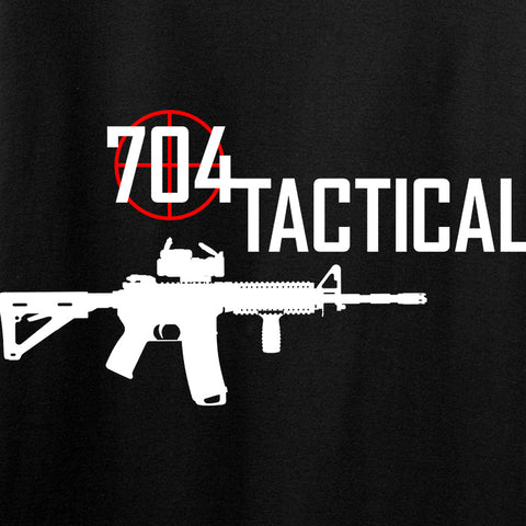 704 Tactical 704 Tactical Full Logo Long Sleeve T-Shirt Long Sleeve [variant_title] by Ballistic Ink - Made in America USA