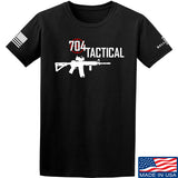 704 Tactical 704 Tactical Full Logo T-Shirt T-Shirts Small / Black by Ballistic Ink - Made in America USA