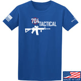 704 Tactical 704 Tactical Full Logo T-Shirt T-Shirts Small / Blue by Ballistic Ink - Made in America USA
