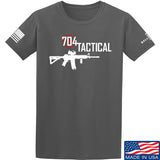 704 Tactical 704 Tactical Full Logo T-Shirt T-Shirts Small / Charcoal by Ballistic Ink - Made in America USA