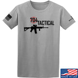 704 Tactical 704 Tactical Full Logo T-Shirt T-Shirts Small / Light Grey by Ballistic Ink - Made in America USA
