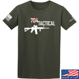 704 Tactical 704 Tactical Full Logo T-Shirt T-Shirts Small / Military Green by Ballistic Ink - Made in America USA