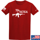 704 Tactical 704 Tactical Full Logo T-Shirt T-Shirts Small / Red by Ballistic Ink - Made in America USA