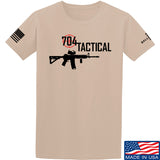 704 Tactical 704 Tactical Full Logo T-Shirt T-Shirts Small / Sand by Ballistic Ink - Made in America USA