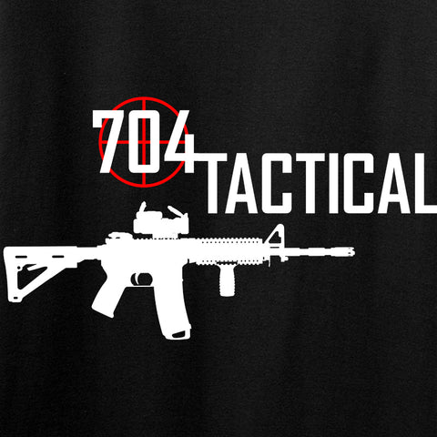 704 Tactical Ladies 704 Tactical Full Logo V-Neck T-Shirts, V-Neck [variant_title] by Ballistic Ink - Made in America USA