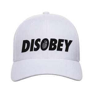 9mmsmg Disobey Snapback Cap Headwear Black by Ballistic Ink - Made in America USA