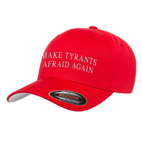 9mmsmg Make Tyrants Afraid Again Flexfit® Cap Headwear [variant_title] by Ballistic Ink - Made in America USA