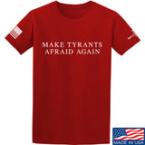 9mmsmg Make Tyrants Afraid Again T-Shirt T-Shirts Small / Red by Ballistic Ink - Made in America USA