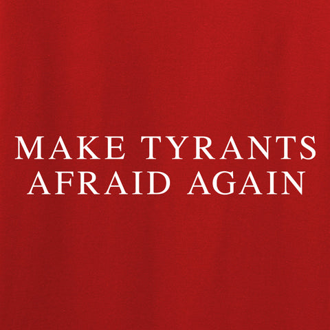 9mmsmg Ladies Make Tyrants Afraid Again T-Shirt T-Shirts [variant_title] by Ballistic Ink - Made in America USA