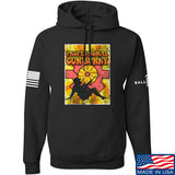 9mmsmg It's hard out here for a bunny Hoodie Hoodies Small / Black by Ballistic Ink - Made in America USA