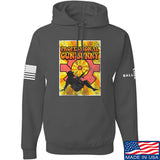 9mmsmg It's hard out here for a bunny Hoodie Hoodies Small / Charcoal by Ballistic Ink - Made in America USA