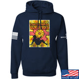 9mmsmg It's hard out here for a bunny Hoodie Hoodies Small / Navy by Ballistic Ink - Made in America USA