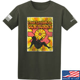 9mmsmg It's hard out here for a bunny T-Shirt T-Shirts Small / Military Green by Ballistic Ink - Made in America USA