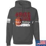 9mmsmg Tar and Feathers Hoodie Hoodies Small / Charcoal by Ballistic Ink - Made in America USA