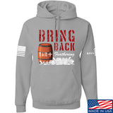 9mmsmg Tar and Feathers Hoodie Hoodies Small / Light Grey by Ballistic Ink - Made in America USA