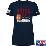 9mmsmg Ladies Tar and Feathers T-Shirt T-Shirts SMALL / Navy by Ballistic Ink - Made in America USA