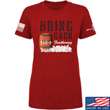 9mmsmg Ladies Tar and Feathers T-Shirt T-Shirts SMALL / Red by Ballistic Ink - Made in America USA