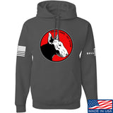 9mmsmg 9mmsmg Logo Hoodie Hoodies Small / Charcoal by Ballistic Ink - Made in America USA