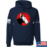 9mmsmg 9mmsmg Logo Hoodie Hoodies Small / Navy by Ballistic Ink - Made in America USA