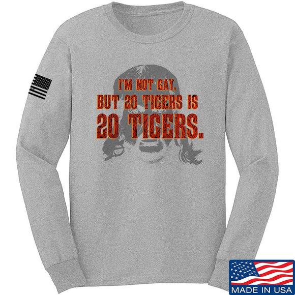 20 Tigers Long Sleeve T-Shirt