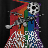 9mmsmg All Gun Laws Are Infringements Long Sleeve T-Shirt Long Sleeve [variant_title] by Ballistic Ink - Made in America USA