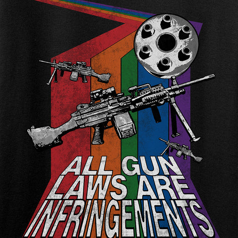 9mmsmg Ladies All Gun Laws Are Infringements T-Shirt T-Shirts [variant_title] by Ballistic Ink - Made in America USA