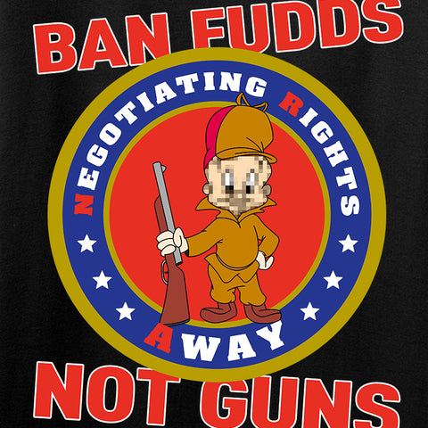9mmsmg Ladies Ban Fudds Not Guns T-Shirt T-Shirts [variant_title] by Ballistic Ink - Made in America USA