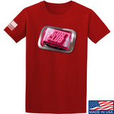 9mmsmg Gun Club T-Shirt T-Shirts Small / Red by Ballistic Ink - Made in America USA