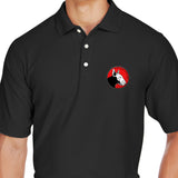 9mmsmg 9mmsmg Logo Polo Polos [variant_title] by Ballistic Ink - Made in America USA