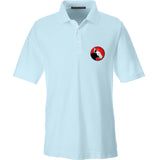 9mmsmg 9mmsmg Logo Polo Polos Small / Crystal Blue by Ballistic Ink - Made in America USA