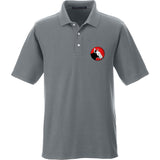 9mmsmg 9mmsmg Logo Polo Polos Small / Graphite by Ballistic Ink - Made in America USA
