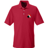 9mmsmg 9mmsmg Logo Polo Polos Small / Red by Ballistic Ink - Made in America USA