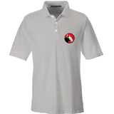 9mmsmg 9mmsmg Logo Polo Polos Small / Silver by Ballistic Ink - Made in America USA