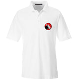 9mmsmg 9mmsmg Logo Polo Polos Small / White by Ballistic Ink - Made in America USA