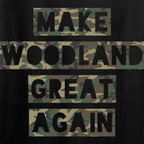 9mmsmg Make Woodland Great Again Long Sleeve T-Shirt Long Sleeve [variant_title] by Ballistic Ink - Made in America USA