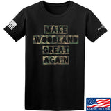 9mmsmg Make Woodland Great Again T-Shirt T-Shirts Small / Black by Ballistic Ink - Made in America USA
