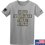 9mmsmg Make Woodland Great Again T-Shirt T-Shirts Small / Light Grey by Ballistic Ink - Made in America USA