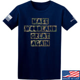 9mmsmg Make Woodland Great Again T-Shirt T-Shirts Small / Navy by Ballistic Ink - Made in America USA