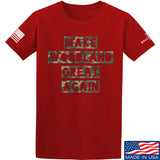 9mmsmg Make Woodland Great Again T-Shirt T-Shirts Small / Red by Ballistic Ink - Made in America USA