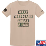 9mmsmg Make Woodland Great Again T-Shirt T-Shirts Small / Sand by Ballistic Ink - Made in America USA