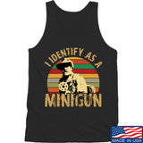9mmsmg Identify As Minigun Tank Tanks SMALL / Black by Ballistic Ink - Made in America USA