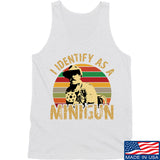 9mmsmg Identify As Minigun Tank Tanks SMALL / White by Ballistic Ink - Made in America USA